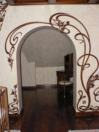 Декор арок в квартире своими руками